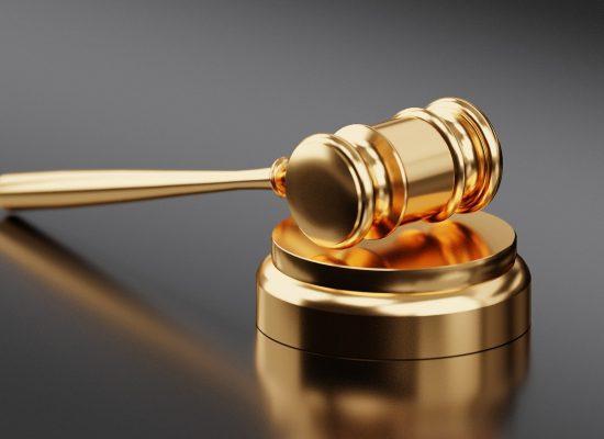 Immigration law gavel